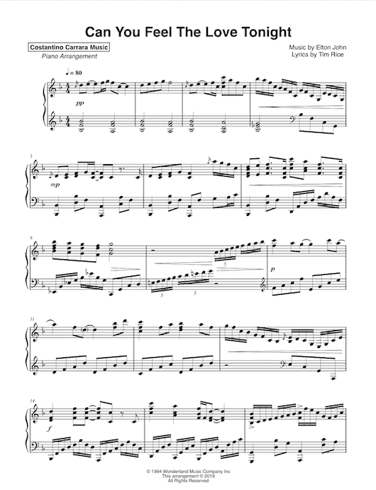 image about Hallelujah Piano Sheet Music Free Printable known as Sheet Songs - Costantino Carrara Songs